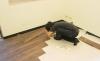 步驟04開始舖設木地板